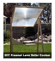 fresnell-solar-cooker